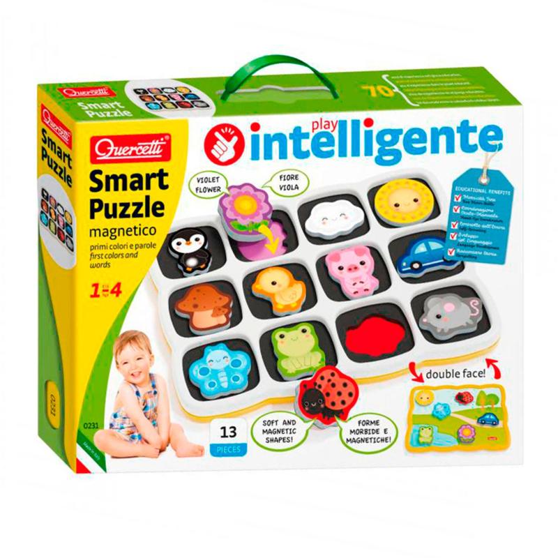 Quercetti Smart Magneet Puzzel