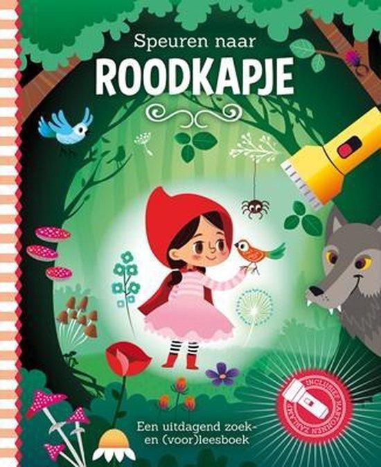 Speuren naar Roodkapje | Zaklamp boek