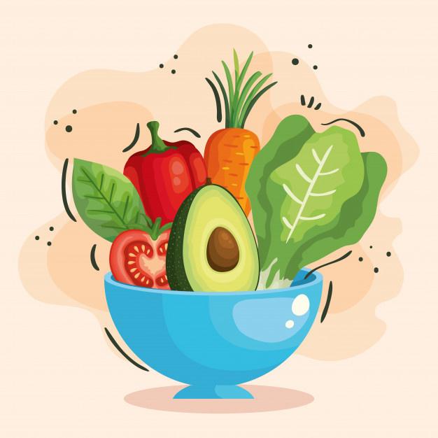 Thema De groenteman | Groente afdeling