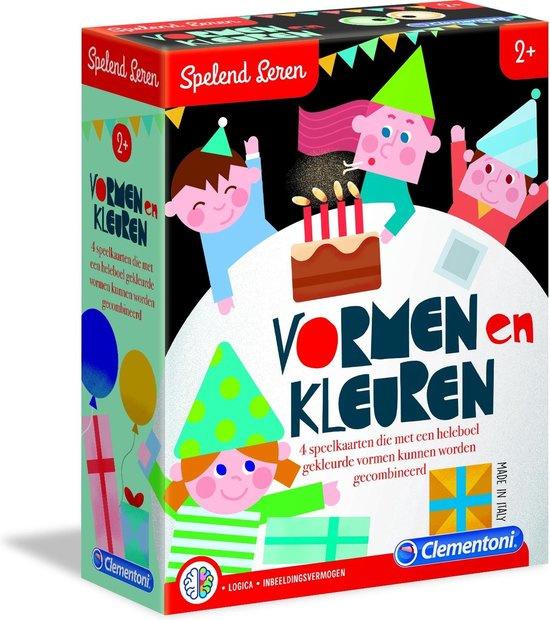 Clementoni Spelend Leren Vormen En Kleuren Educatief spel
