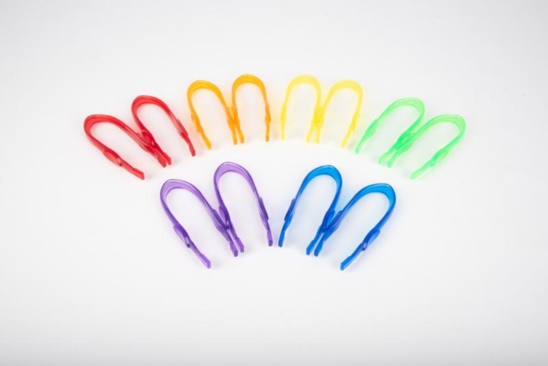 Gekleurde Transparante Tweezer TickiT | 6 dlg.