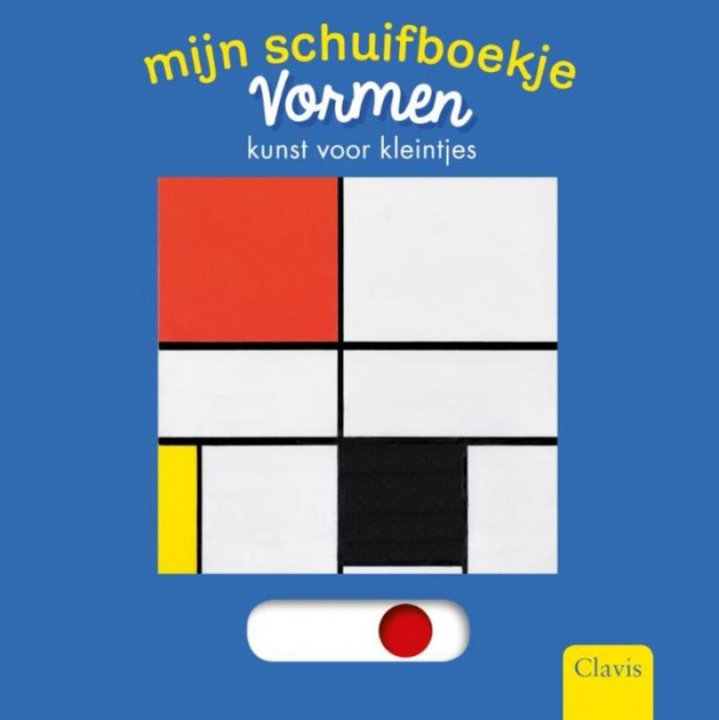 Mijn schuifboekje Vormen | Kunst voor kleintjes