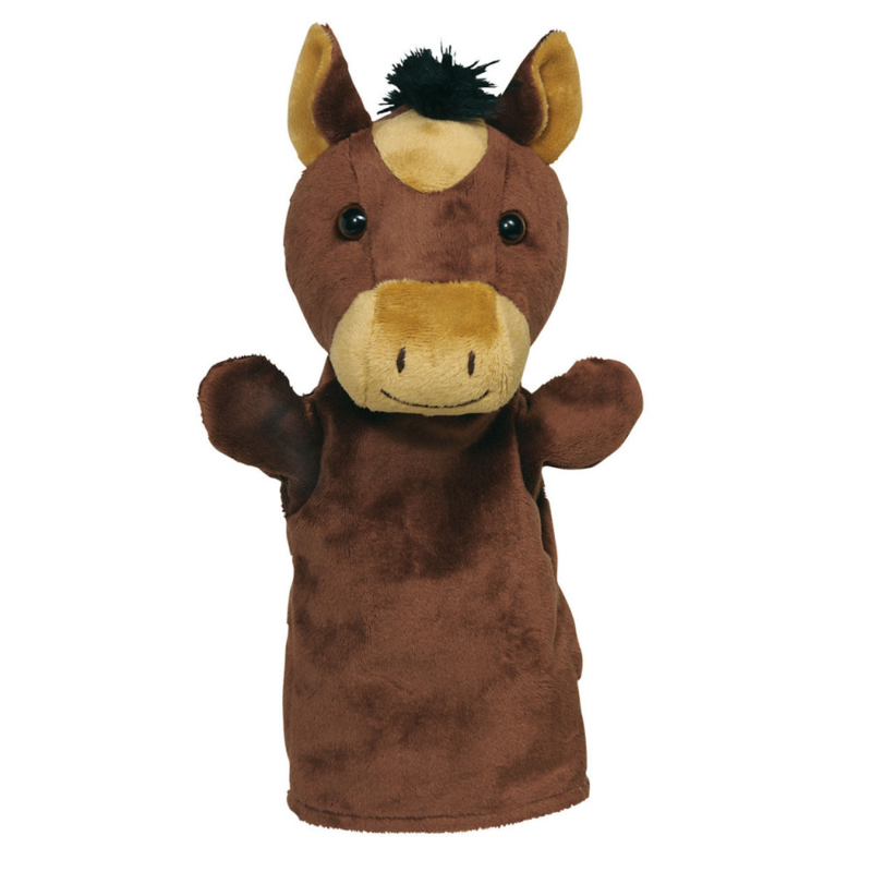 Goki  Knuffel en handpop paard