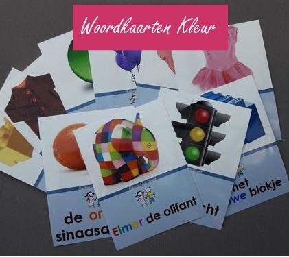 Woordkaartenset Kleur