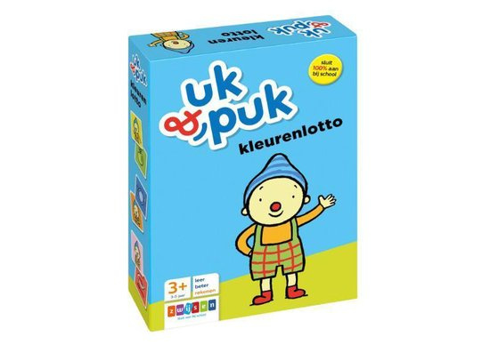 Uk en Puk kleurenlotto 3+