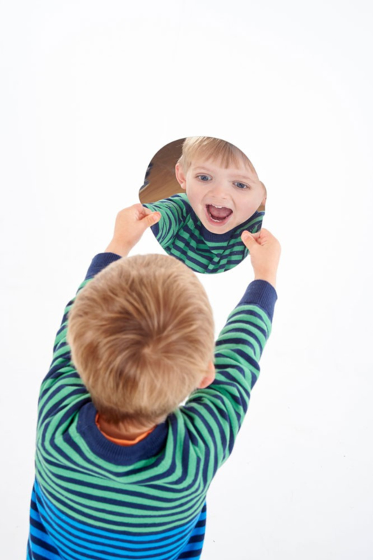 Expressie spiegelgezichten 5 dlg. TickiT