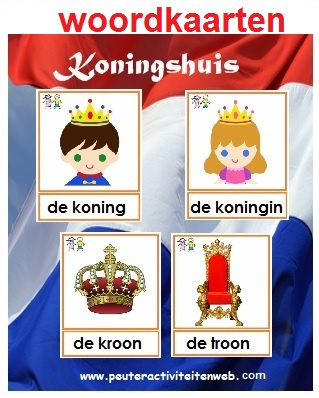 Woordkaarten Holland