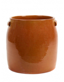 Flower Pot Jars - Orange - L - Serax