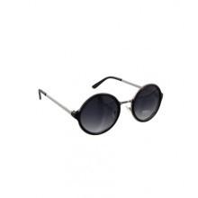 zonnebril zwart rond