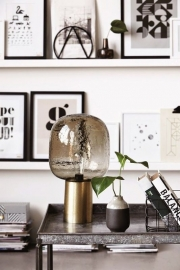 Lamp Note grey/brass - House Doctor