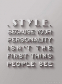 Personal Style...