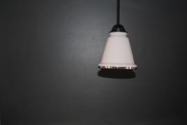 Hanglampje - roze glas - klein