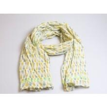 sjaal ananas groen - geel