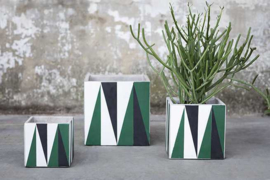 Pot Marie - Black -Green-White - Serax