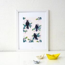 All the birds - A3