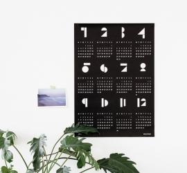 Snug - poster kalender 2015 - zwart