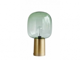Lamp Note green/brass - House Doctor