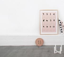 Snug - poster kalender 2015 - roze