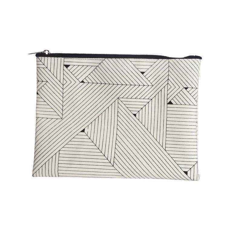 Make-up tas canvas Triangles - House Doctor