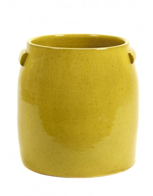 Flower Pot Jars - Yellow - XL - Serax