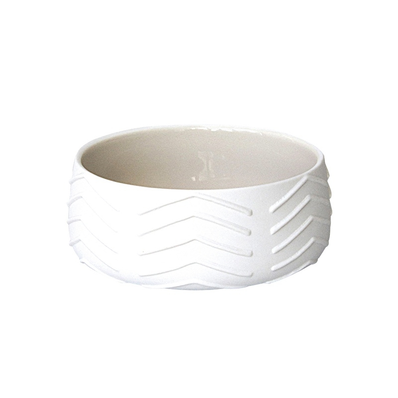 Ceramic cup chevron design - ComingB