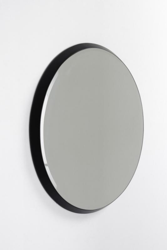 Black oval mirror - ComingB