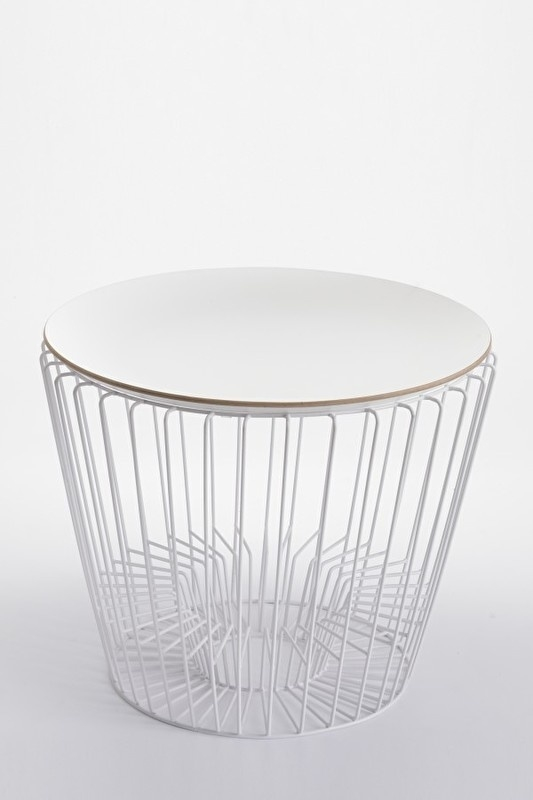 White matt coffee table - ComingB