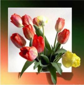 painting tulpen