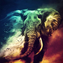 painting olifant
