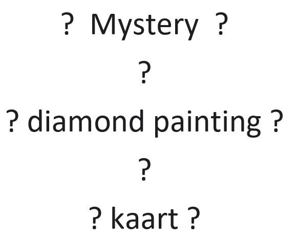 00. mystery kaart