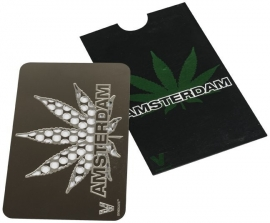 cr 114 Grinder tarjeta de crédito: Hoja Ámsterdam