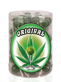 Original Cannabis Flavoured Lollipop