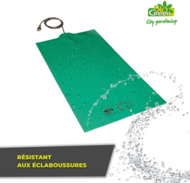 Heating Mat Green 35 x 20 cm flexibel