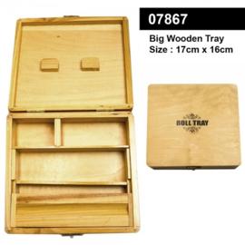 Grote houten rollade - 17 cm x 16 cm
