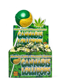 CANNABIS LOLLIPOPS NORDLYS X PINEAPPLE EXPRESS