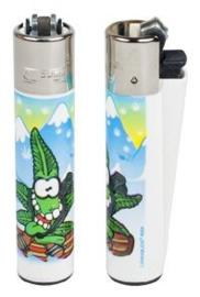 Cannabuds Clipper Lighter Snowboarder