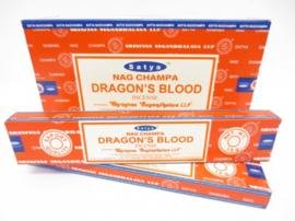 SATYA NAG CHAMPA DRAGON'S BLOOD 15 GRAM WIEROOK