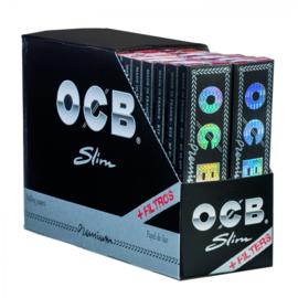 OCB Schw.Premium Slim extra lang + FilterTips