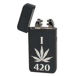 A45 Novi Plasma Aansteker, I Love 420