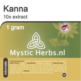 Kanna 10x extracto 1 gramo