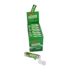 Mint Cannabis Dextrose  Sweets met echt hennepextract.