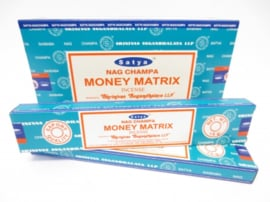SATYA NAG CHAMPA MONEY MATRIX 15 GRAM WIEROOK