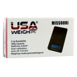 w 20 Missouri digitale weegschaal 600g x 0,1 gram