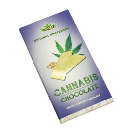 CANNABIS ROMIGE Witte CHOCOLADE