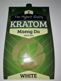 Kratom Maeng Da Bianco, Polvere Mitragyna Speciosa 100gr