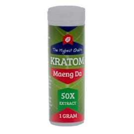 Kratom Borneo red 50X extract 1gram