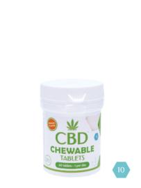CBD 10% kauwtabletten