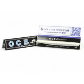 OCB Black Premium Slim extra lang sigarettenpapier