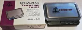 W 16 TRUWEIGH Digitale weegschaal, balans 600-0,1 gram