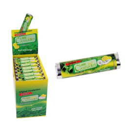 Lime  Cannabis  Dextrose  Sweets met echt hennepextract.